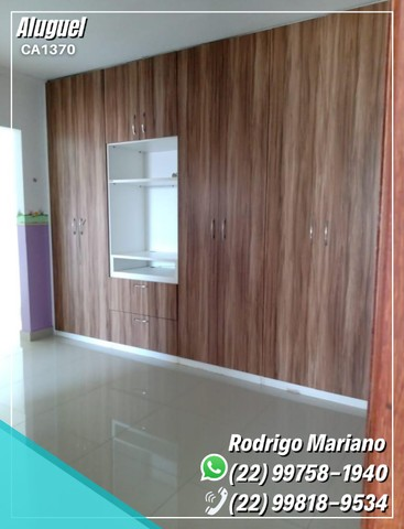 Alugo linda casa c/ área gourmet e hidromassagem no bairro Jardim Mariléa, Rio das Ostras - Foto 9