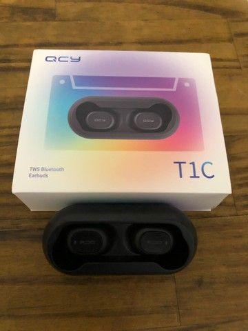 Fone QCY Bluetooth Novo - NUNCA USADO - Foto 2