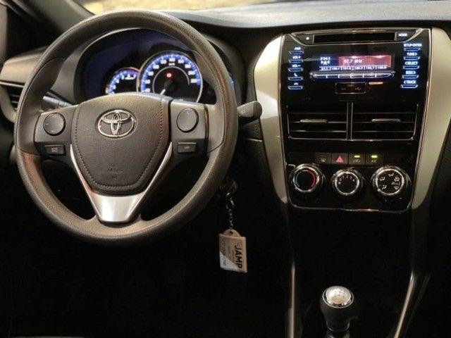 Toyota Yaris HB XL 1.3 Flex Mecânico 2019 - Apenas 18.000km rodados -  - Foto 12