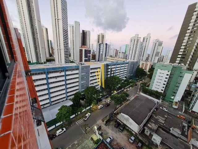 Edf. Golden One | Mobiliado | Nascente | 27m² | 1 Quarto Suíte | 1 Vaga Rotativa | Area de - Foto 2