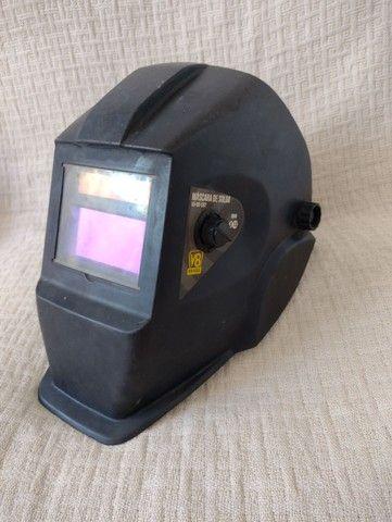Máscara de solda V8 com escurecimento automático