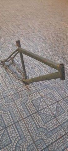 quadro usado de bicicleta Renolt - Foto 3