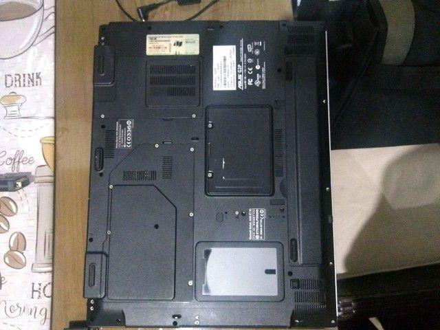 Raridade - Notebook Asus gamer G2p 17 polegadas + bolsa de transporte TARGUS.  - Foto 4