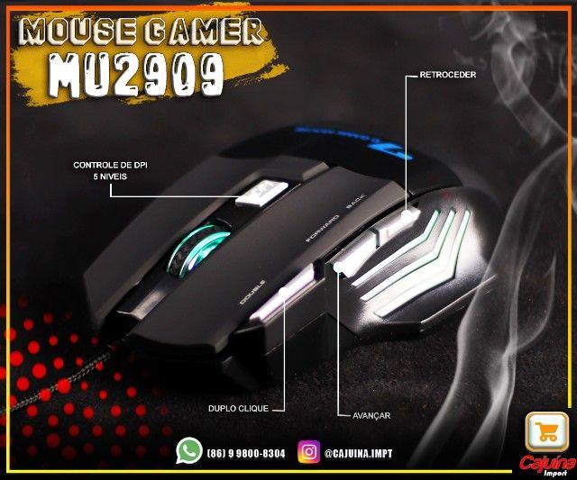 Mouse Gamer 3200 dpi mu-2909 M21sd9sd21 - Foto 4