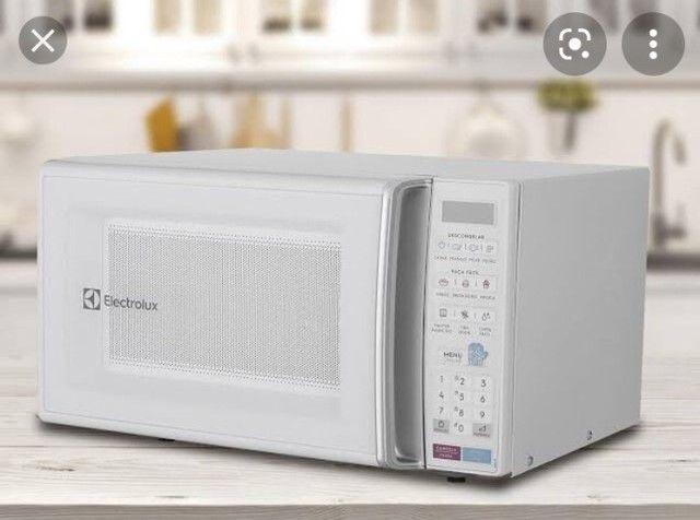 Microondas Electrolux 27L branco