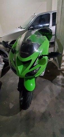 Zx10 kawasaki Ninja moto de garagem