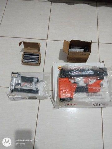 Compressor e grampeador - Foto 2