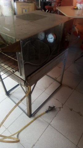 Forno a gás de inox - Foto 2