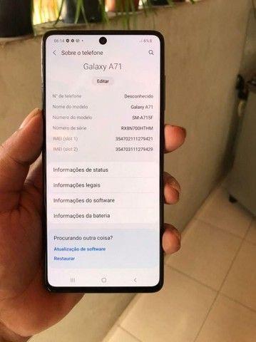 Samsung Galaxy A71 128G - Foto 2