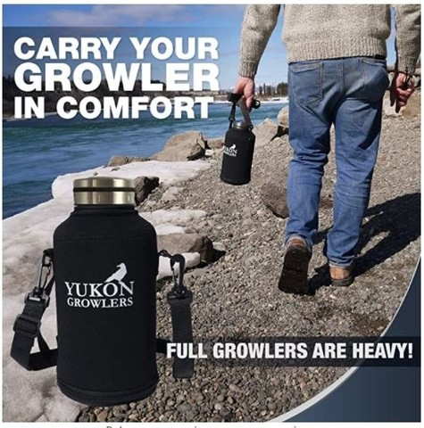 Growler Yukon 1.8l de Inox - Garrafa Termica - Foto 4