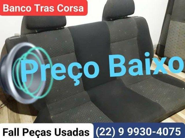 Banco Traseiro Corsa / Encosto-Acento