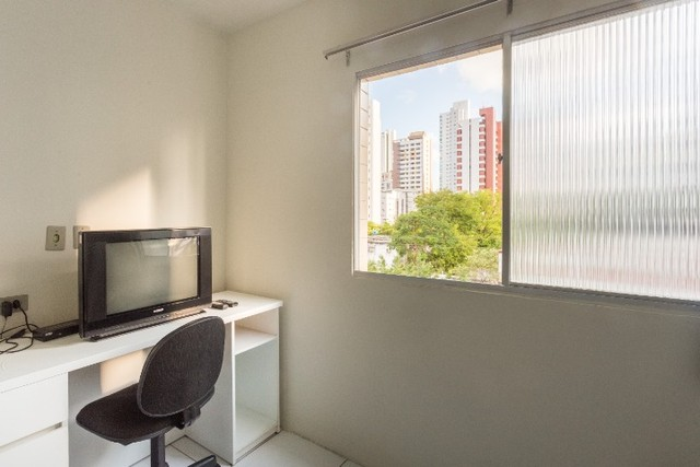 Apartamento 31 B, mobiliado c/ 1 quarto de frente em Boa Viagem - Recife - PE - Foto 9