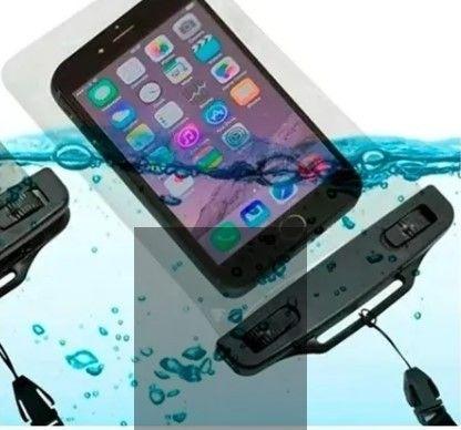Capa para celular A prova D`água universal - Iphone, Samsung, Motorola, entre outros - Foto 5
