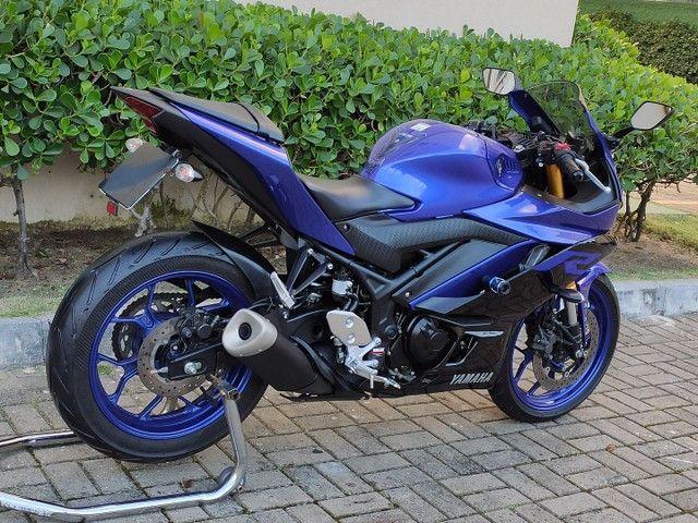 Yamaha R3 2020 2.200km ( anúncio real ) - Foto 3