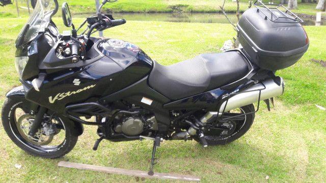 Vstrom 1000 DL e carreta para 2 motos