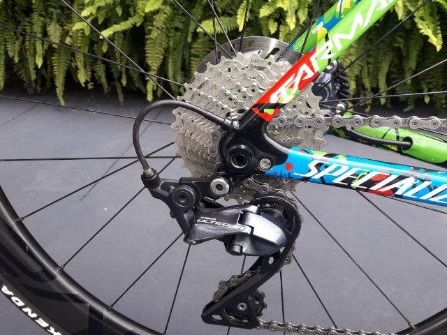Bicicleta Semi Nova Tarmac SL6 SW Disc - Foto 2