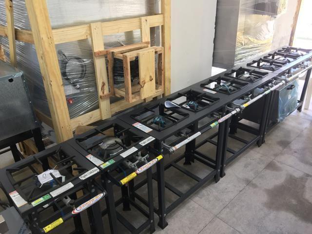 Fogão Industrial para restaurantes / fogão a partir de r$ 599,00 - Foto 4