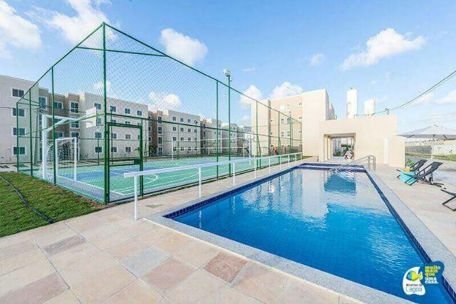Apartamento na Zona Norte - 2/4 - 49m² - Documentação Grátis