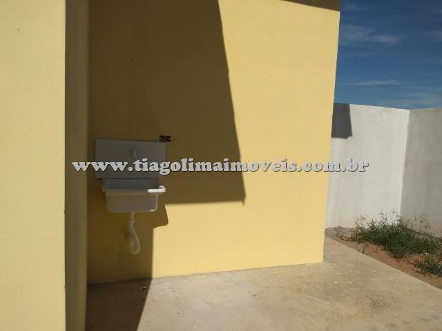 Casa Nova || 02 Dormitórios || Suíte || Golfinhos || 170 Mil - Foto 9
