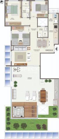 Apartamento à venda com 2 dormitórios em Campeche, Florianópolis cod:CO001153 - Foto 2