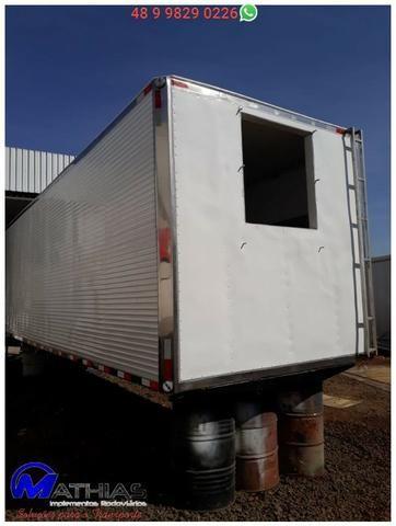 Baú bitruck 16 paletes Niju semi novo truck Mathias Implementos - Foto 2