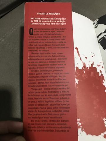 Livro: SANGUE AZUL - Morte e corrupção na PM do RJ - Foto 2