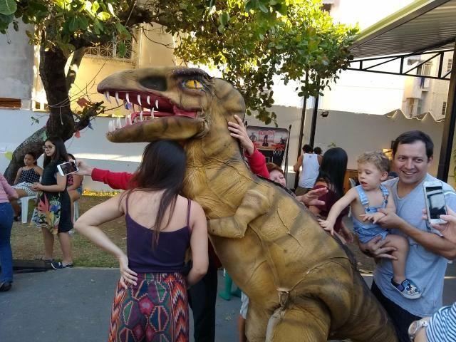 Dinossauro em sua festa .realisno e pontualidade!! - Foto 3