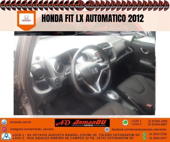 HONDA FIT 2011/2012 1.4 LX 16V FLEX 4P AUTOMÁTICO - Foto 2