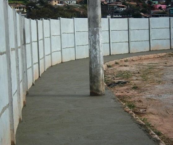 Muro pré-moldado, chapéu de muro premoldado, casa prefabricada - Foto 3