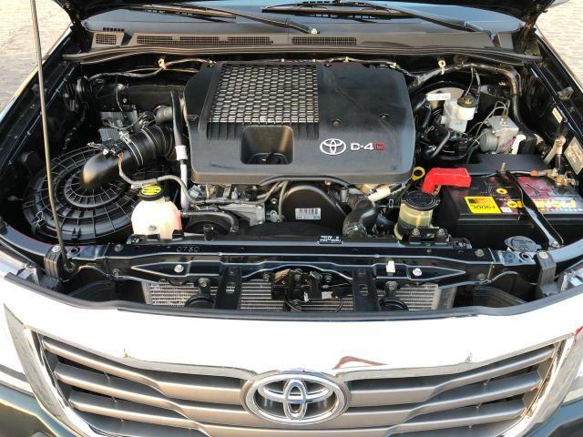 Toyota hilux srv ano 2015 top - Foto 10
