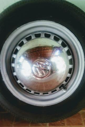 Rodas VW fusca aro 15 4 furos - Foto 5