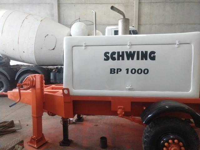 Bomba de concreto Schwing BP 1000 - Foto 4