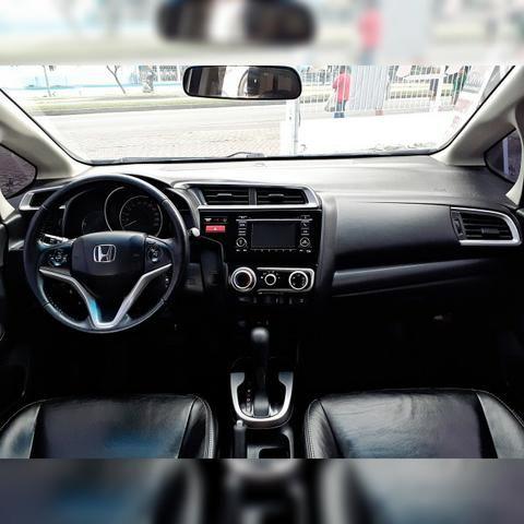 Honda Fit EX 1.5 - Completo com GNV 5ª Geração - Foto 7