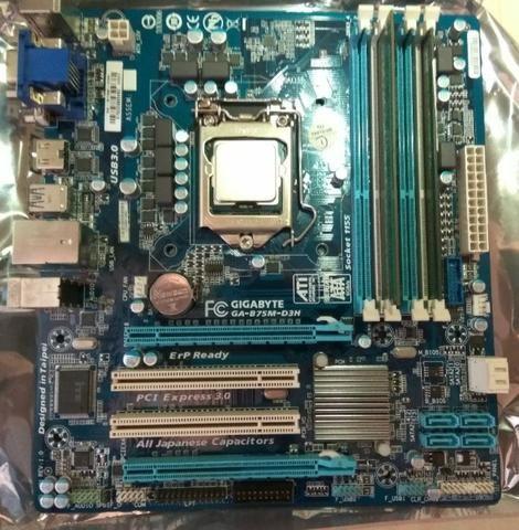 Kit I5 3570k + B75m-d3h - Foto 2