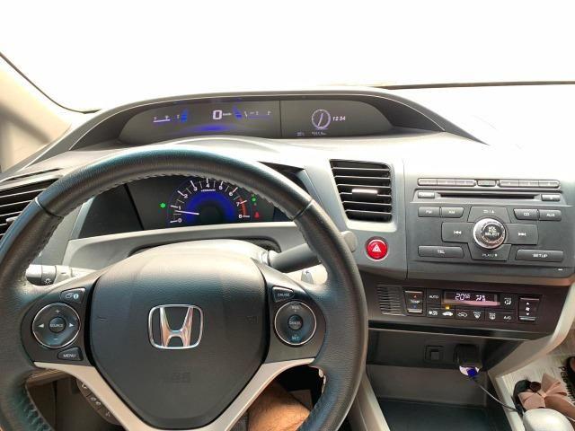 Honda Civic LXR Flex Automático 2015 (Garantia de fábrica) - Foto 5
