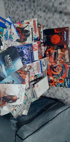 Lote Hqs, mangas e livros - Foto 3