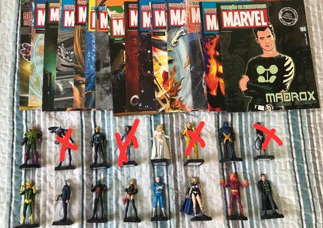 Miniaturas Eaglemoss Colecionáveis Marvel DC - Foto 6