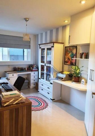Lindo Apartamento Semimobiliado, 2 Suítes e 1 Quarto, Sacada Gourmet, no Centro! - Foto 14