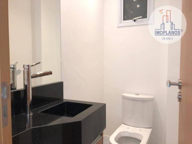 Belíssimo apartamento com 3 dormitórios à venda, 124 m² por R$ 837.585 - Canto do Forte -  - Foto 8