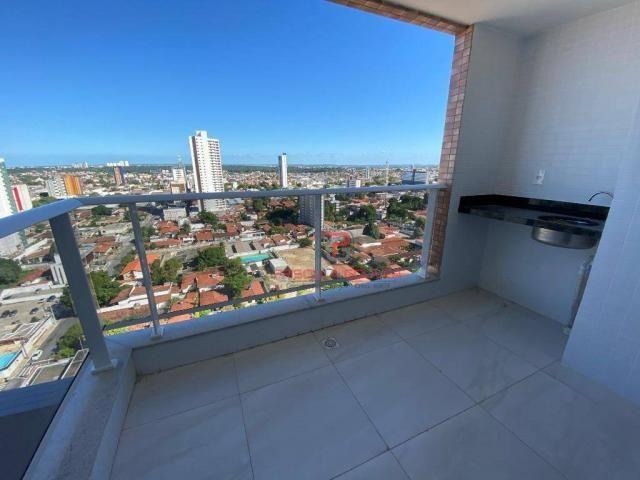 Apartamento novo, 2 quartos, andar alto, varanda gourmet e 2 vagas de garagem - Foto 10