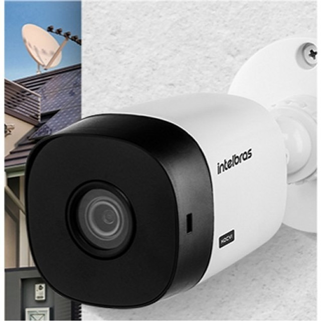 Camera bullet 1220 d hdcvi Intelbras 3.6 mm 20 metros - Foto 3
