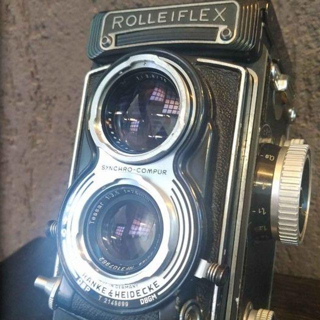 Rolleiflex T - Tessar 3,5 - 6x6