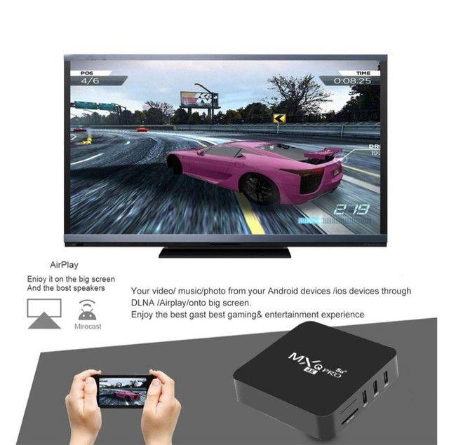 TV Box 4k 5G de 32gb Novo! - Foto 3