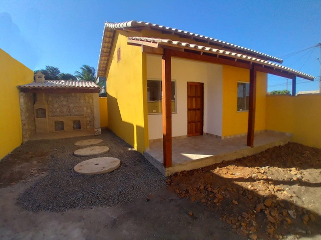 Casas em Unamar- Tamoios, 2º distrito de Cabo Frio área gourmet com churrasqueira - Foto 2