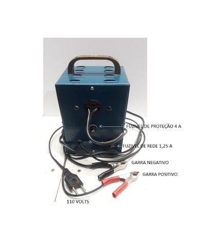 carregador de bateria carga lenta  - Foto 4