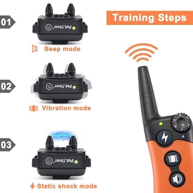 Ecollar Coleira Eletrônica Treinamento Adestramento Profissional - Foto 3