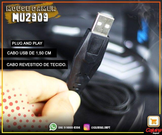 Mouse Gamer 3200 dpi mu-2909 M21sd9sd21 - Foto 5