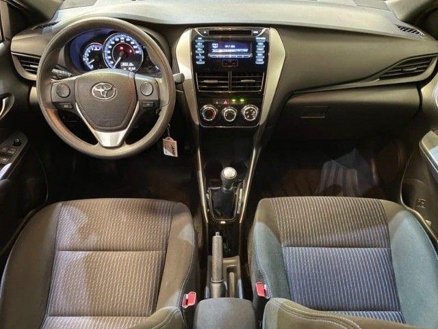 Toyota Yaris HB XL 1.3 Flex Mecânico 2019 - Apenas 18.000km rodados -  - Foto 15