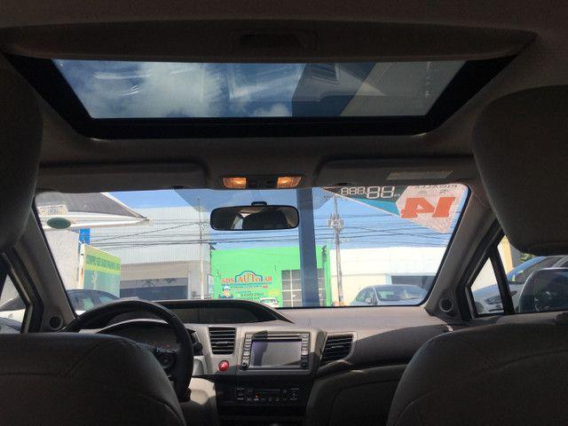 Honda Civic Lxr 2.0 2014 Automático Blindado - Foto 13