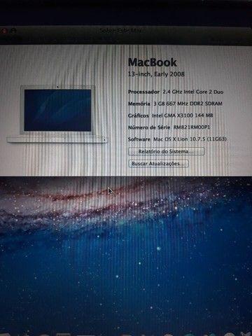 MacBook White 2008 Lion 10.7.5 - Foto 2